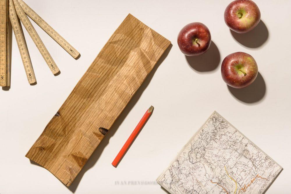 Portafrutta in legno di botte allperubra for Botte di legno arredamento